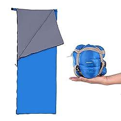 Lixada Ultraleicht Schlafsack für Camping Reisen Wandern Multifunktion
