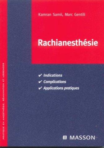 Rachianesthsie