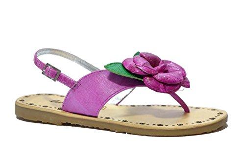 Lulu' bambino Sandali infradito fucsia scarpe bambina JUDY 33