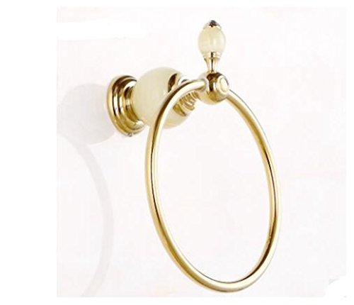 All-Kupfer-Wasser Jade und Gold Handtuch Ring, Anhänger im europäischen Stil Bad Metall, hängen Handtücher, Badetücher hängen, Roségold