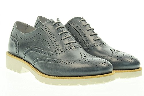 Nero Giardini Chaussures Femme Inglesine Bas P717191d / 205 Bleu