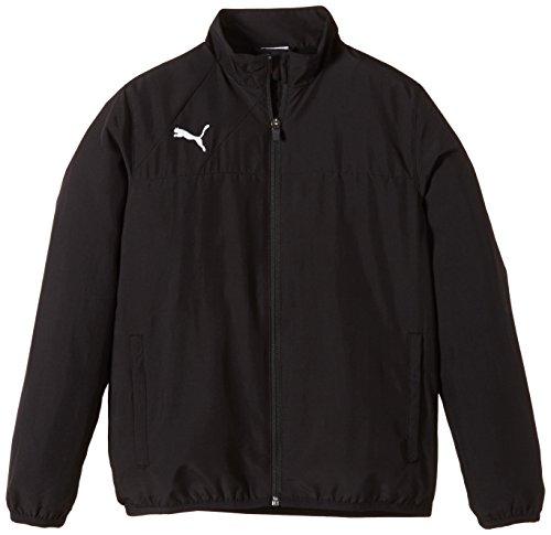 Cat Woven Jacket (PUMA Kinder Jacke Esquadra Woven Jacket, schwarz, 152, 654386 27)