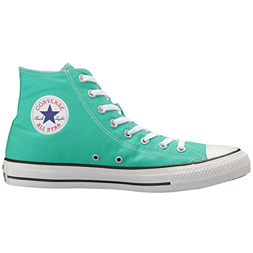 Converse Womens Chuck Taylor All Stars Seasonal Colour Hi Top Mint Canvas Trainers 40 EU (Canvas Hi Top)