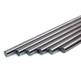 Präzisionswelle 10mm h6 geschliffen und gehärtet 300mm