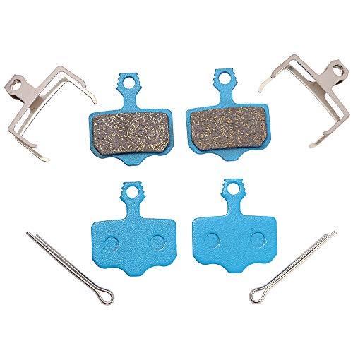 Icreopro 2 Paia di Pastiglie Per Freni a Disco per Avid Elixir E9 E7 E5 E3 E1 CR ER, SARM XO XX XXWC DB1 DB3 DB5.(Resina, semi metallo, metallo polimerico, metallo sinterizzato)