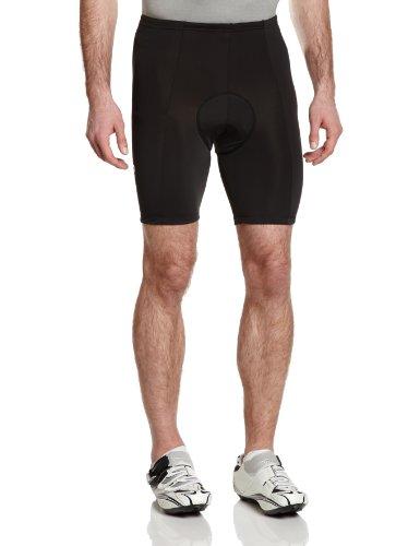 GONSO Radhose Cancun aus 80% PA 20% EL für Herren, gepolsterte, formbeständige Fahrradhose/ Bermuda/ Shorts mit Kordel, Reflektoren, nahtfrei