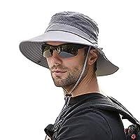 SIYWINA Zonnehoed voor heren, uv-bescherming, safari, hoed, zomer, outdoor, vishoed