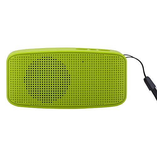 OPAKY Tragbare drahtlose Bluetooth-Stereo-Sound-SD-Karten-Lautsprecher-Handschlaufe für iPhone, Samsung usw.