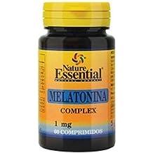 Melatonina 1 mg. complex 60 comprimidos con pasiflora, amapola californiana,melisa, tila