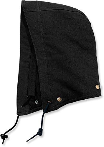Carhartt Duck Kapuze (Carhartt 10236 Quilt Lined Duck Kapuze Farbe Black, Größe XXL-5XL)