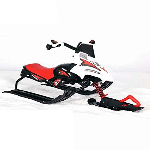 Yz-sled slitta per bambini in motoslitta con struttura portante in acciaio con freno da ghiaccio per adulti slitta da slittino