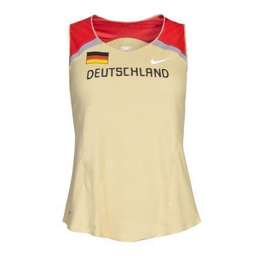 Nike DLV Damen Distance Singlet Leichtathletik Laufshirt Deutschland 329839, Gr. M
