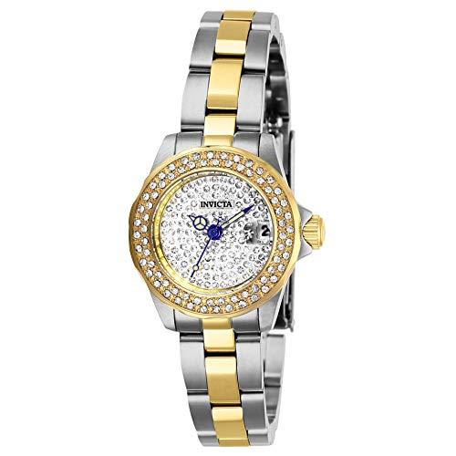 Invicta Angel orologio da polso da donna 24mm braccialetto zweifaerbiger Acciaio Inossidabile Quarzo 28454