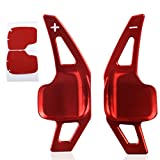 CITALL Red 1 Pair Aluminum Steering Wheel Shift Gear paddle Extension