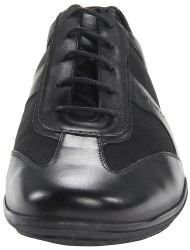 Geox U City J Herren Sneaker Schwarz (Noir (Black))