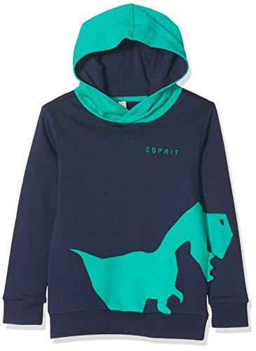 ESPRIT KIDS Jungen RP1504408 Sweatshirt, Blau (Navy 490), Herstellergröße: 116+
