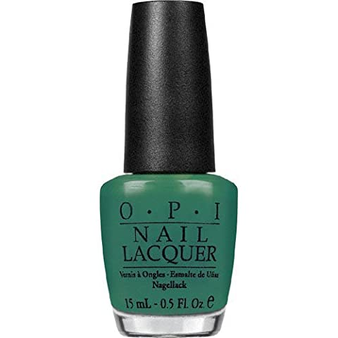 OPI Nail Lacquer, Jade Is The New Black, 0.5 Ounce by OPI (Opi Nagellack Grün)