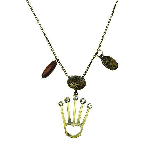 innocent-lifestyle-necklace-ncq-crown-queen-necklace-ladies-bronze-one-size-modest-party-casual-wear