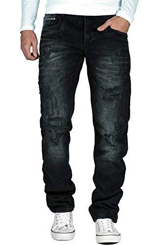 Cipo & Baxx Herren Jeans CD104 Black W32/L32 (Klassische Jeans Herren 14)