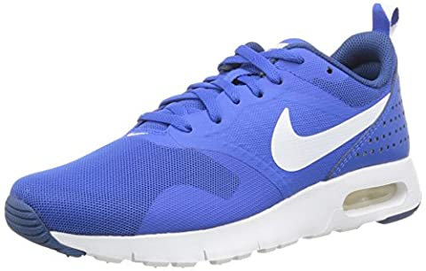 Nike Air Max Tavas, Baskets Basses Garçon, Bleu (Hyper Cobalt/White/Dark Royal Blue), 38 EU
