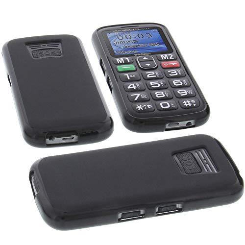 custodia per cellulari brondi amico semplice in gomma tpu di colore nero