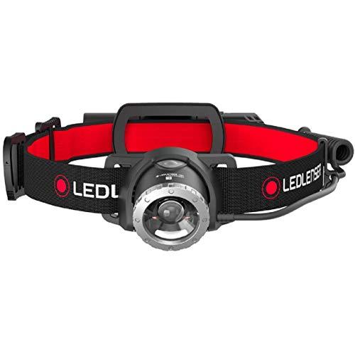 Ledlenser Stirnlampe H8R - Hochwertige LED Allround-Kopflampe mit integrierter Rückleuchte - aufladbar - bis zu 120 Stunden Laufzeit - 600 Lumen
