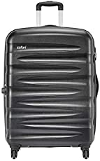 Safari Polycarbonate 30 inches Black Hardsided Check-in Luggage (WEDGE774WBLK)