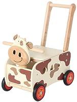 Walk & Ride cow push wagon