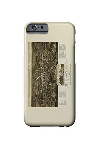 thomasville-georgia-panoramic-map-iphone-6-cell-phone-case-slim-barely-there