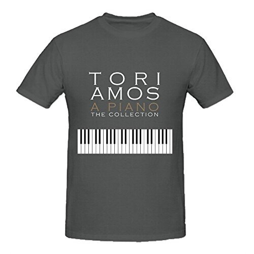 Tori Amos A Piano The Collection T Shirts For Herren Crew Neck XXX-Large