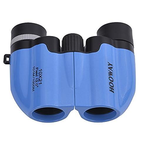 Hooway 10X21 Compact Kids Binoculars for Bird Watching - Outdoor Set for Kids,Ideal Birthday Gift for