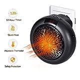 DNPOOK Insta Heater - Mini PTC Estufa Calefactor Eléctrico...