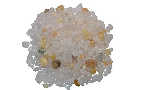 Prisha Deocrative Healing Rose Quartz Chips Stones, Pebbles,Glossy Stones for Home Decor, Garden, Vase Filler, Vastu, Home, Reiki, 2.2 Pounds Rose-chip
