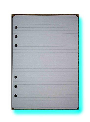 Nachfüllung für Notebook/organizer A5 14,5X20,5cm - liniertes - Notizpapier - 6-fach gelocht