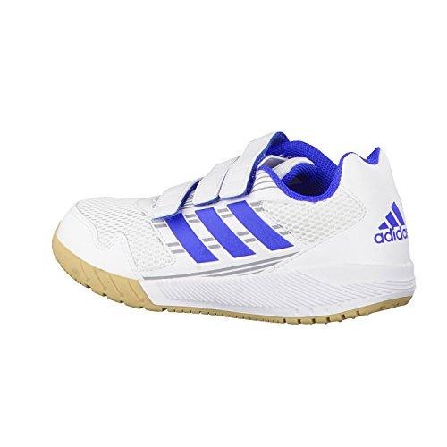 Adidas, Altarun K, Scarpe da Ginnastica Unisex Bambini Bianco