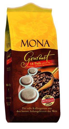 Röstfein Mona Gourmet 18 Pads, 5er Pack (5 x 125 g Packung)