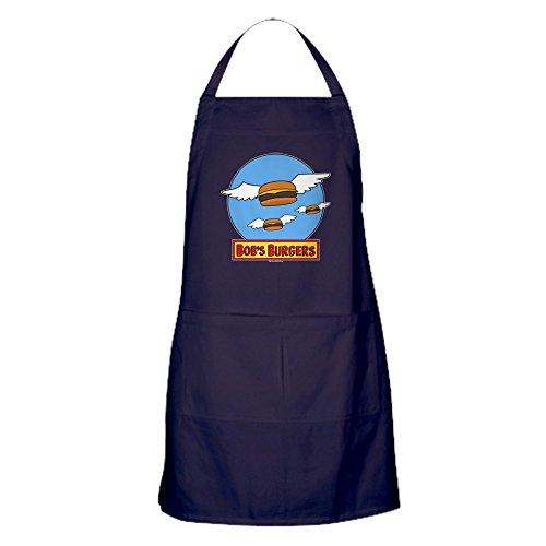 CafePress–Bob 's Burger Flying Burger–100% Baumwolle Küche Schürze mit Taschen, perfekt Grillen Schürze oder Backen Schürze (Custom-koch-bekleidung)