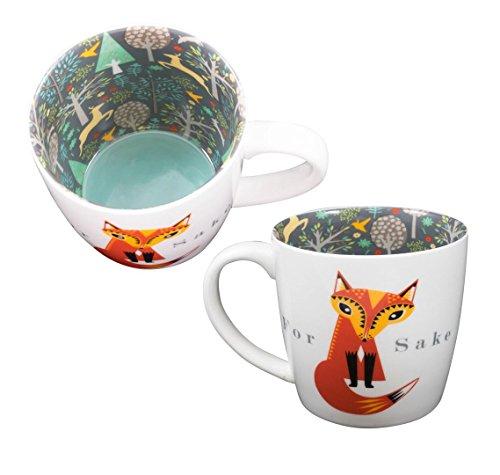 Tasse ~ Céramique thé/café ~ Vice Versa Tasse - POUR 'FOX' SAKE