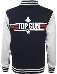 TruffleShuffle Top Gun Varsity Jacket