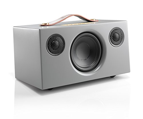 """Audio Pro """"Addon T5"""" Bluetooth Stereo Wireless Speaker with built in subwoofer Compatible with Android, Apple & Windows Devices - Grey"""