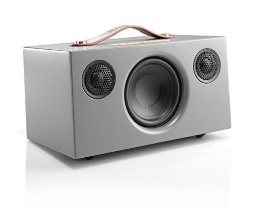 Audio Pro Addon T5 Bluetooth Stereo-Lautsprecher (Echtholzgehäuse) Grau