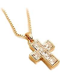 Lily Jewelry® Mujer    oro amarillo     cristal