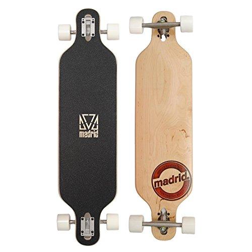 Longboard de la marque Madrid | Brandmark Trance DT | Board complet 39 pouces (99cm)