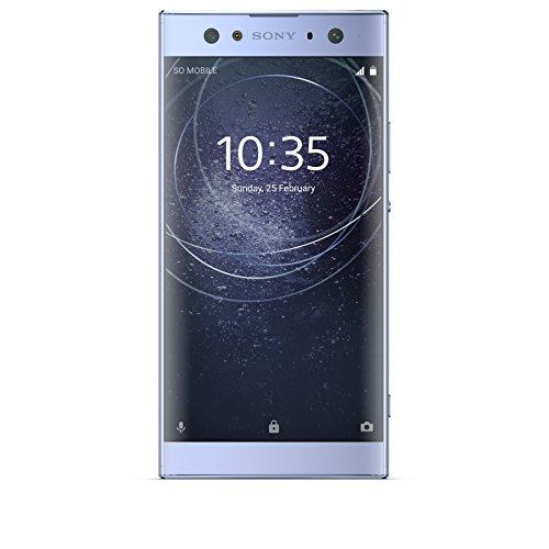 Sony Xperia XA2 Ultra Smartphone da 32 GB, Blu, Dual SIM, Dual Camera