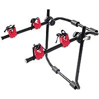 WOLTU® FZ1121 Porte-vélos des Supports de bicyclettes Porte-Bagages arrière Pliable vélo Voiture,Noir