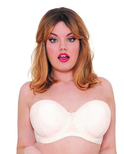 Curvy Kate Damen BH Luxe Strapless BH , Elfenbein (Ivory) , 80K (Herstellergröße: 36H) -
