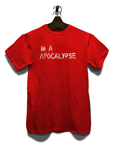In A Zombie Apocalypse Id Eat You Last Vintage T-Shirt Rot