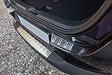 Tuning-Art L362 Edelstahl Ladekantenschutz mit Abkantung fahrzeugspezifische Passform, Farbe Edelstahl:Silber gebürstet