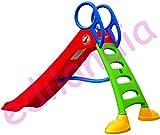 Mochtoys XXL Stabile Rutsche 200 cm Kleinkinderrutsche für Kinder + Dusche