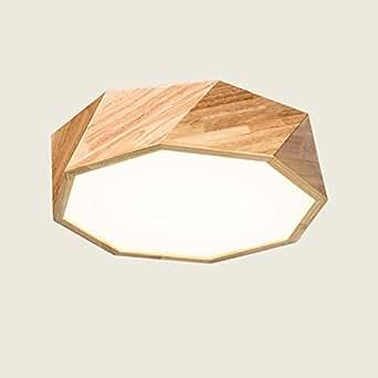 deckenleuchten nordic led massivholz geometrie. Black Bedroom Furniture Sets. Home Design Ideas
